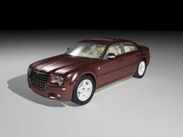 Chrysler 300C Lancia Thema 3d model