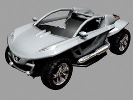 Peugeot Hoggar Concept 3d model