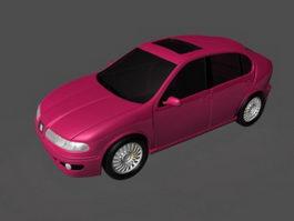 SEAT LeOn Compact Car 3d model