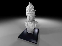 Bust of Avalokiteshvara 3d model