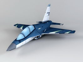 M-346 Master Trainer Aircraft 3d model