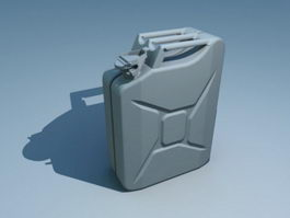 Jerrycan Container 3d model