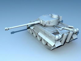 Panzer VI Tiger Ausf.H 3d model