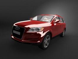 Audi Q7 TDI 3d model
