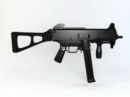 UMP45 Gun 3d model