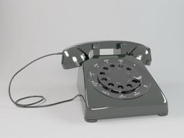 Black Telephone 3d model