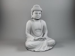 Sakyamuni Buddha 3d preview