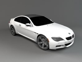 BMW M6 Coupe 3d model