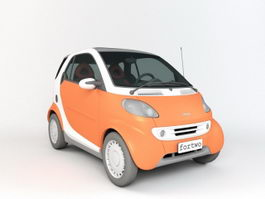 Smart Fortwo Electric Drive 3d model