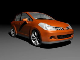 Nissan Tiida Hatchback 3d model