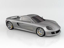 Porsche GT 3d model