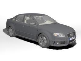 Audi RS 4 Executive Car 3d model