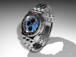 Wrist Watch 3d model