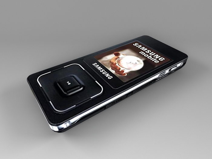 Animated Samsung SGH-F308 3d rendering