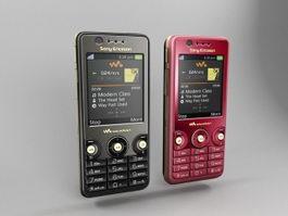 Sony Ericsson W660i 3d model