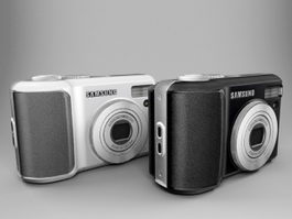 Samsung S1030 Digital Camera 3d model