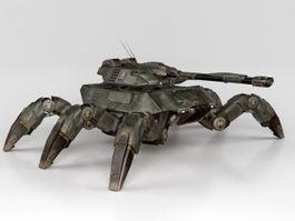 Giant Spider Tank 3d model