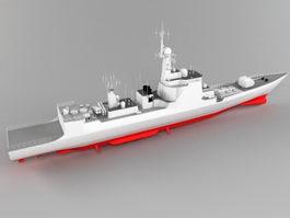 Type 052C Destroyer 3d model
