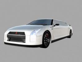 Rolls-Royce Limousine 3d model