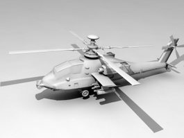 Military Helicopters 3d model