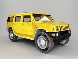 Hummer H1 3d preview