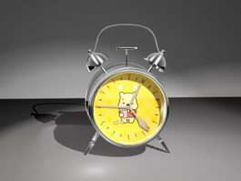 Bear Alarm Clock 3d model