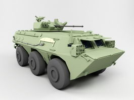 ZSL92 Wheeled Armored Personnel Carrier 3d model