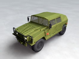 Military Hummer 3d preview