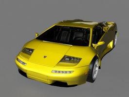 Lamborghini Diablo VT Roadster 3d model