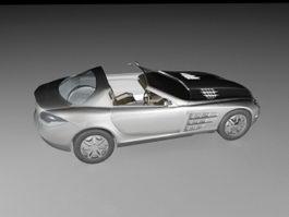 Mercedes-Benz SLS AMG Convertible 3d model