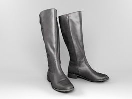 Ladies Tall Boots 3d model