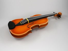 Beautiful Violin 3d model