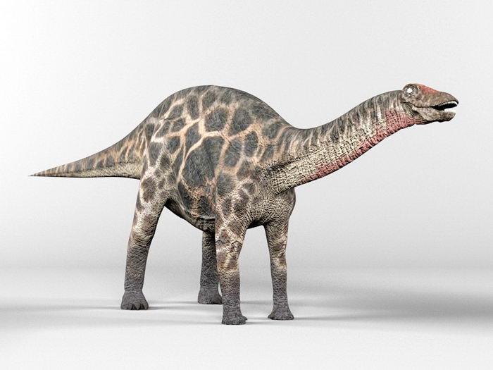 Dicraeosauridae Dinosaur 3d rendering