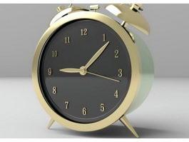 Vintage Alarm Clock 3d model