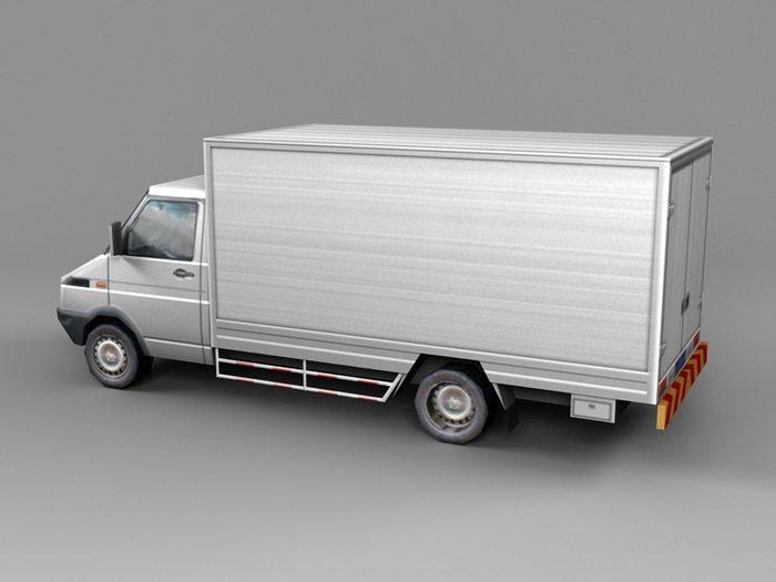 Iveco Step Van 3d rendering