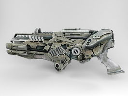 Aliens Railgun 3d model