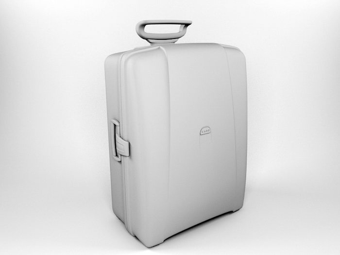 Travel Luggage 3d rendering