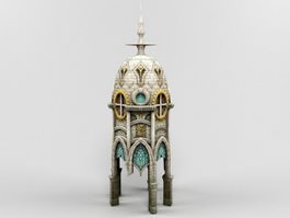 Gothic Church 3d preview