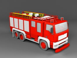 Fire Engine Truck 3d model