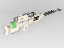 Ramjet Rifle 3d model