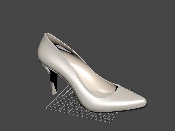 Lady High Heels 3d rendering