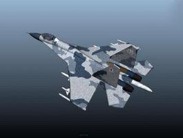 Su-27 Plane 3d model