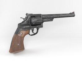 S&W M29 Revolver 3d model