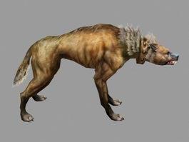 Jackal Wolf 3d model