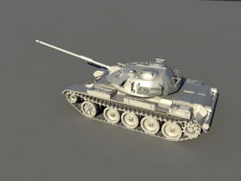 Type 59D Tank 3d model