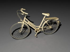Cruiser Bicycle 3d preview