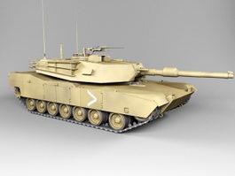 M1 Abrams American Tank 3d model