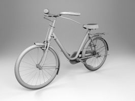 Urban Bicycle 3d model