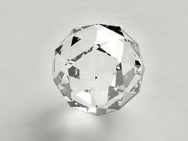 Diamond Ball 3d model