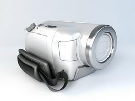 Small Video Camera 3d model